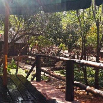 Thaba'Nkwe Bushveld Inn Deck View